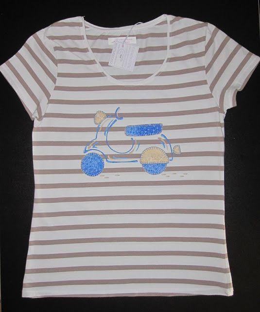 cocodrilova: camiseta vespa
