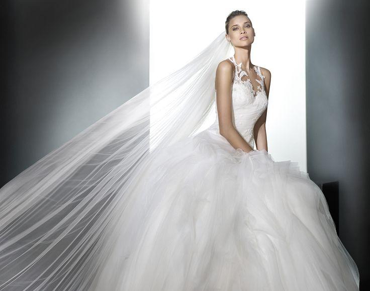 Bridal Gowns On Pinterest Tibet Pronovias Bridal And Bridal