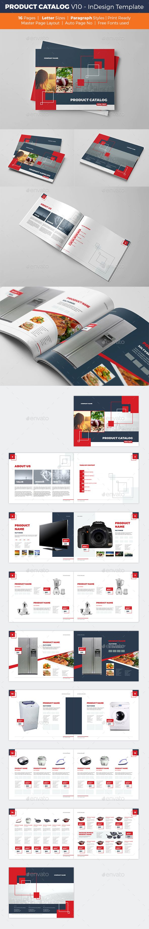 Product Catalog Template - V10