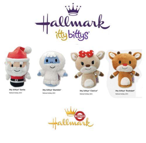 Hallmark Itty Bittys ●● Santa Clarice Bumble Rudolph ●●set OF 4 Retired | eBay