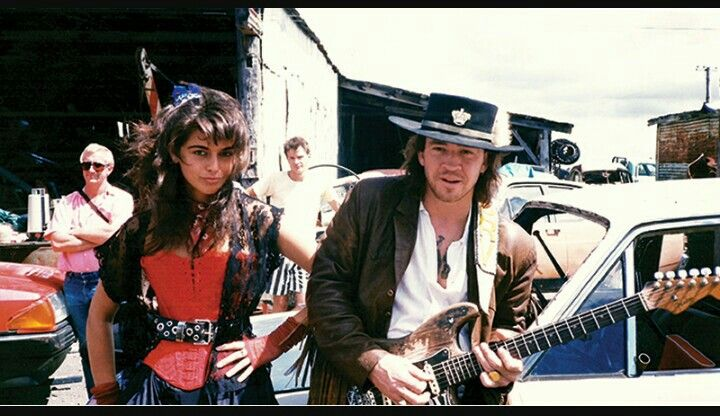 '''.SRV Behind The Scenes | Vintage Guitar® magazine Janna Lapidus Leblanc with Stevie Ray Vaughan, 1988... ....''' http://www.vintageguitar.com/28158/srv-behind-the-scenes/