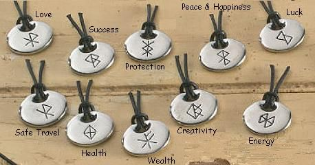 Bind Rune Pendants
