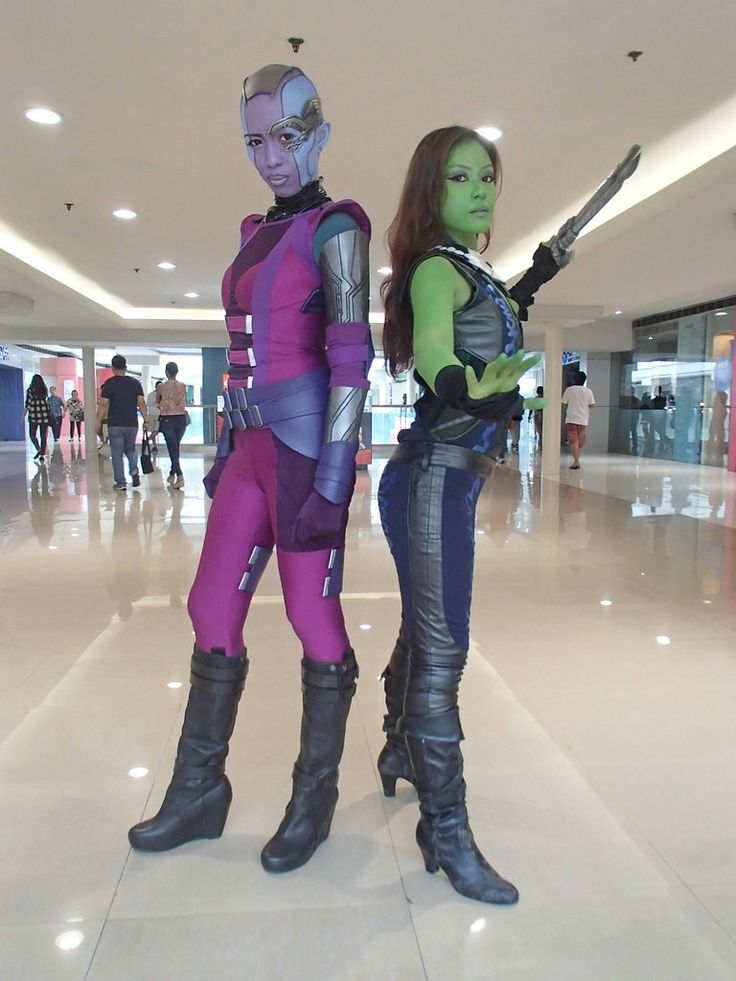 nebula guardians of the galaxy cosplay - Google Search
