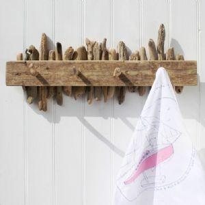 Driftwood peg hooks