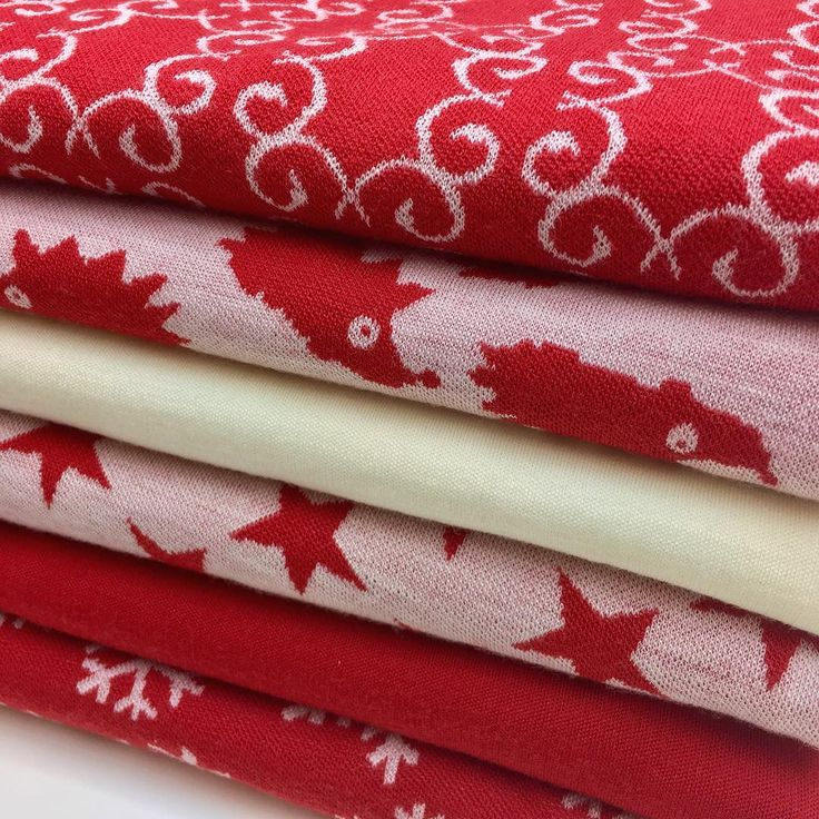 Red and white - a perfect match! #myllymuksut #mymust #merinovilla #merinoull #merinowool #merinowolle #sewingforkids #sewing #sewinglove #fabrics #fabriclove #fabricstore #fabricaddict #ompelu #madeinfinland #red #white #ompeluelämää #sysysy