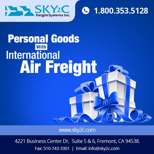 #Sky2c International Air Freight System provides efficient, timely and cost-effective moving services for households and Personal Goods. #InternationalFreightShipping