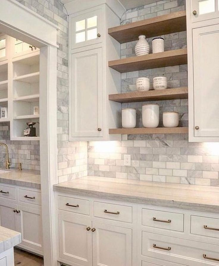42 Unique Kitchen Open Shelves Design Ideas On A Budget Kitchen