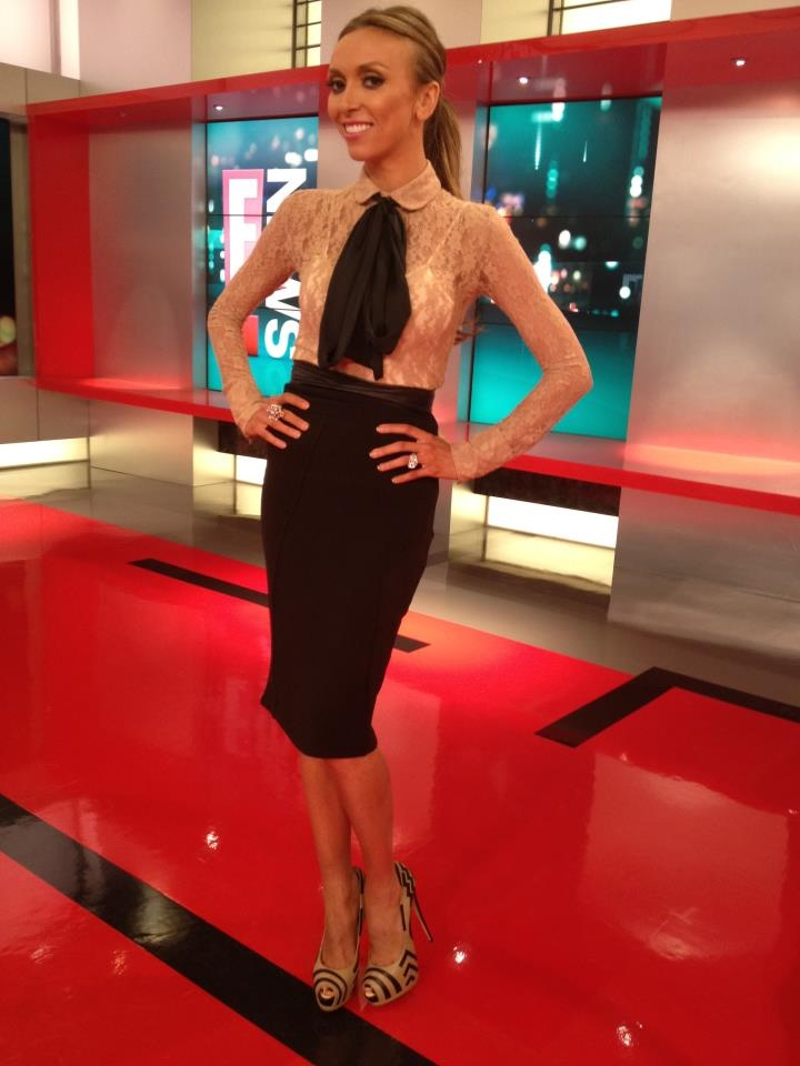 Giuliana Rancic. love this outfit