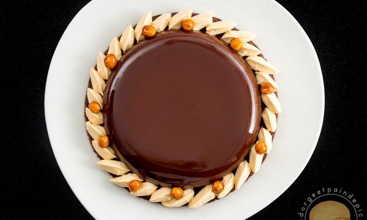 Tarte divine chocolat et caramel au beurre salé - Sucre d'Orge et Pain d'Epices