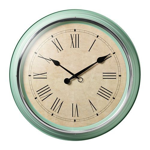 SKOVEL Wall Clock IKEA - saw this today - I LOVE it!