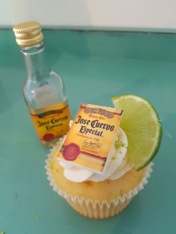 Tequila Cupcakes!