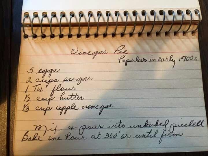 Best 25+ Vinegar pie ideas on Pinterest | Best pie crust ...