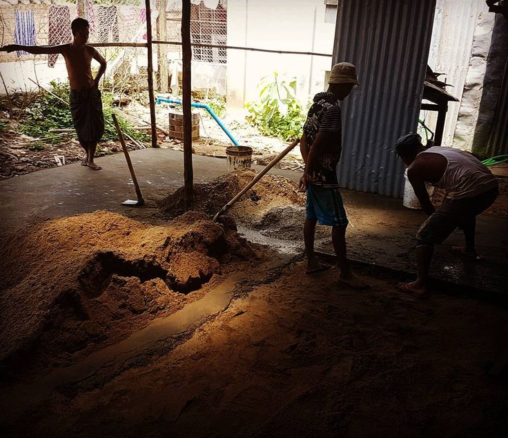 No this is not an ancient archaeological site but preparing the grounds for a new workshop space for Nicco Furniture! We are so happy to be expanding our workshop and this will allow us to produce many more beautiful pieces of furniture for all our Myanmar customers!  #furniture #myanmarfurniture #yangon #thanlyin #Workshop #concrete #pouringconcrete #Myanmar #settingupshop