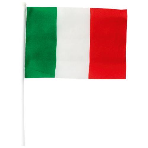 Bandiera tricolore 21 x 30 cm. A partire da 0, 36 cent. Chiama Decografic allo 010/9111632 per ordinare! #italia #calcio #brasile2014 #mondiali