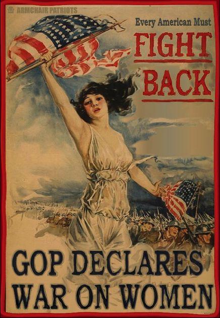 GOP war on women.