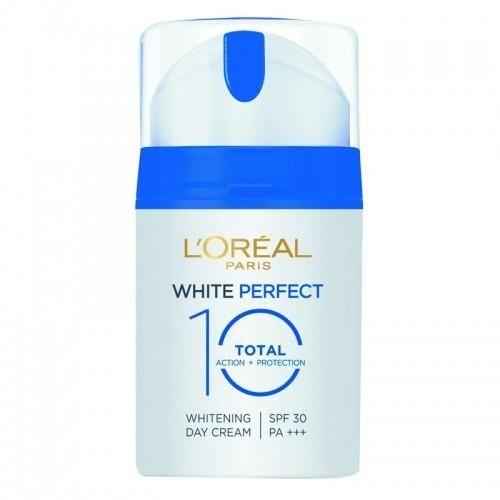 L'Oreal White Perfect Total 10 SPF30 PA+++ Day Cream