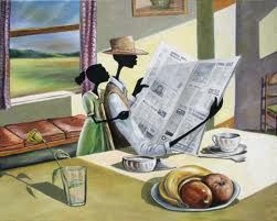 Sunday Morning By Artist Elginia McCrary
