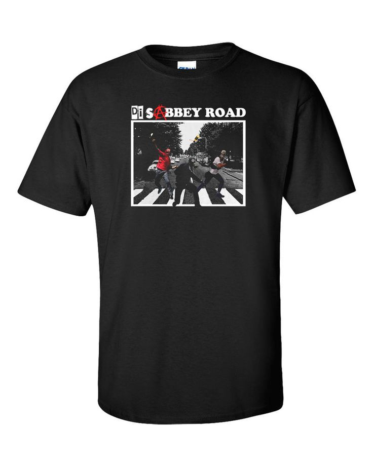 Anarchy T-Shirt Riot Anarchist Disobey Class War Revolution Molotov Abbey Road #Gildan #GraphicTee