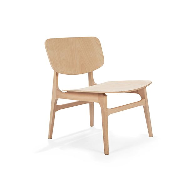 Anna PPL L   Wood Lounge Chair. Suitale For Contract Use. Hospitality,  Restaurant And Hotel Furniture.