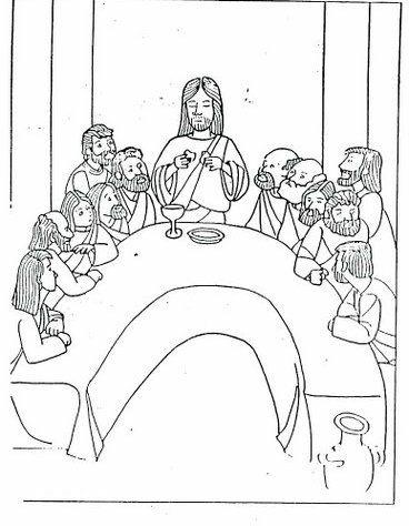 Settimana santa disegni per bambini