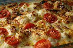 Éxito asegurado! Cocina Coliflor gratinada con tomates cherry con esta receta paso a paso y sorprende a tu familia. Recetas fáciles para cocinar rico y variado con poco dinero.