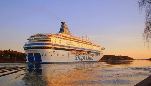 Silja Line, Cruise between Stockholm, Sweden and Helsinki, Finland.