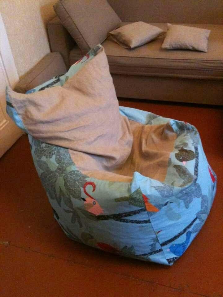 Кресло-мешок, наполнитель пенополистирольные шарики