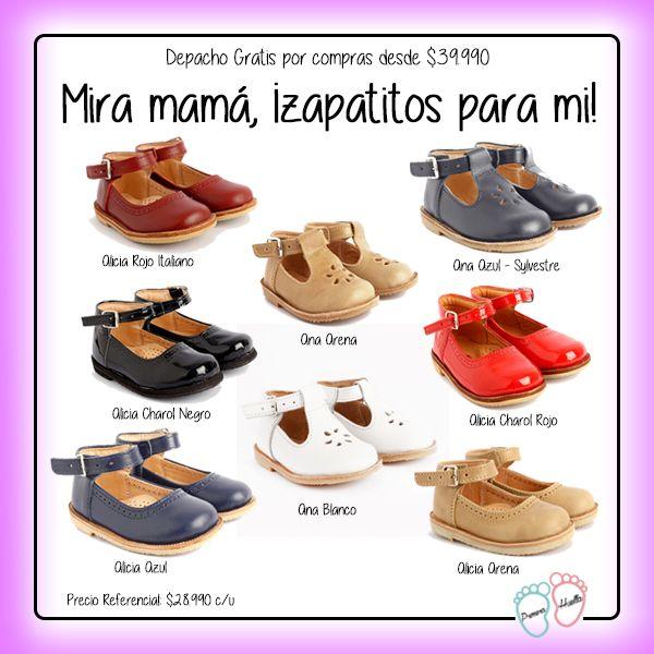 Mamá, creo que es hora que compremos zapatitos nuevos, ¿qué te parecen estos http://www.primerahuella.cl/search/zapatos? :)