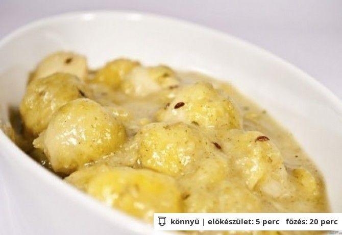 Kelbimbó főzelék liszt- és tejmentesen