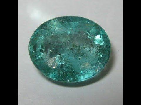 Batu Zamrud Oval 2.62 carat