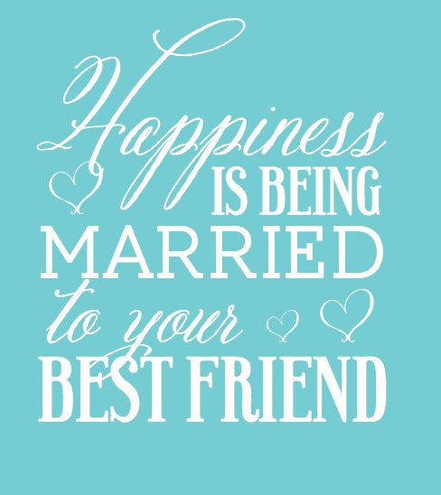 Friendship Day Quote For Wife : Custom wedding collapsible can coolers happiness is being married to your best friend love