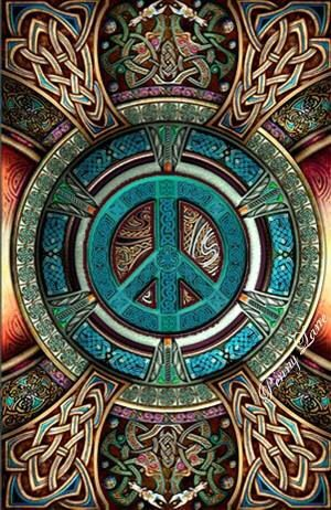 ☮ American Hippie Art Quotes ~ Peace Sign