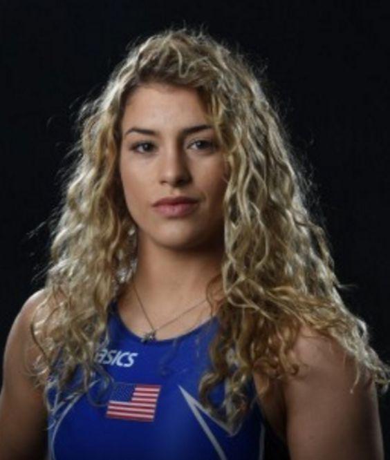 Helen Maroulis, wrestler, US