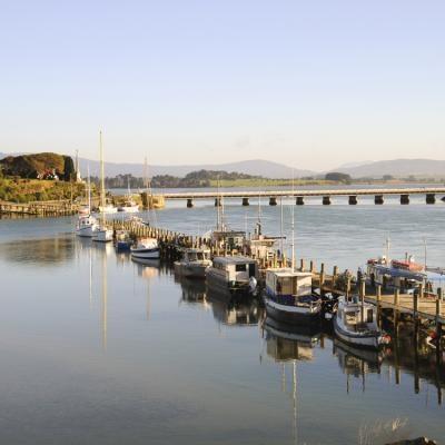 Wharf - Riverton, NZ