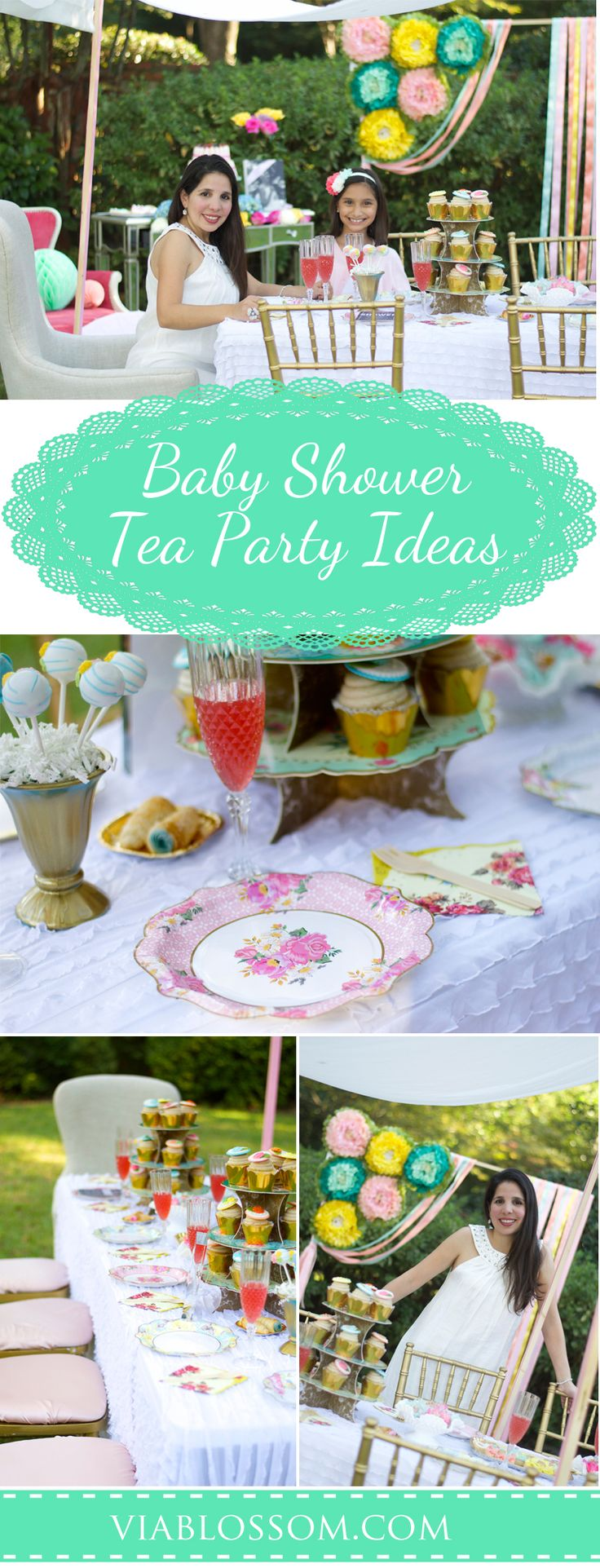 Hosting a baby shower and need some food ideas look no further since - Baby Shower Garden Party