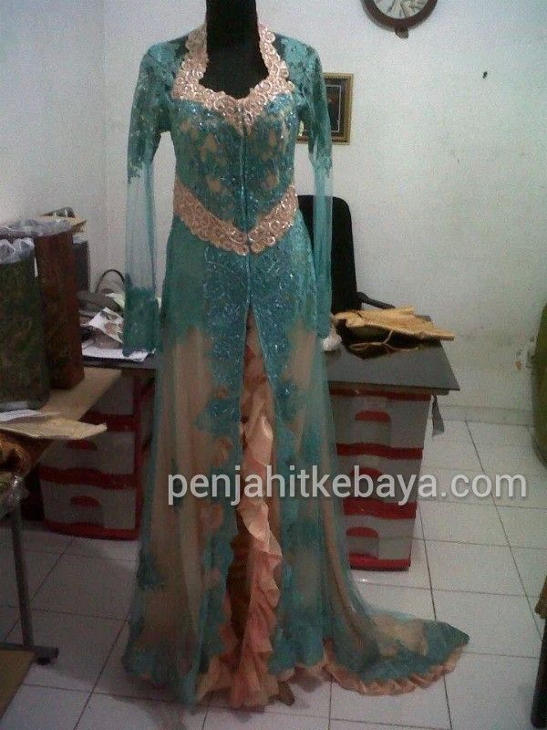 Indonedia Wedding gown kebaya