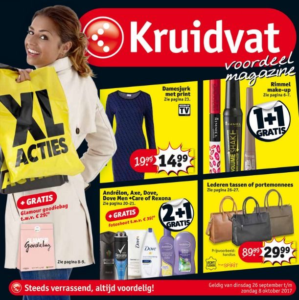 Kruidvat folder 25 september t/m 8 oktober 2017