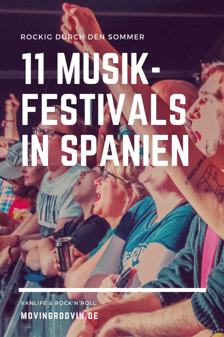 Wie wär's mit einem Musik-Festival in Spanien – anstatt Strandurlaub ein bisschen Musik? Ich habe hier 11 spannende Musik-Festivals in Spanien gefunden für Liebhaber von Rock & Indie Musik.