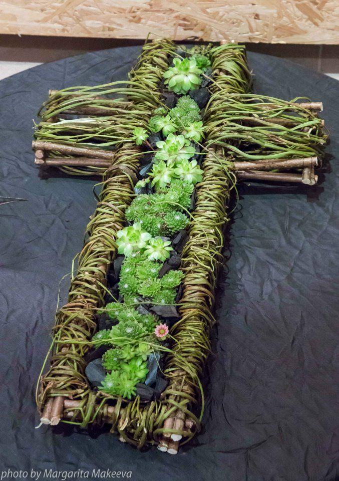 Croix plantes