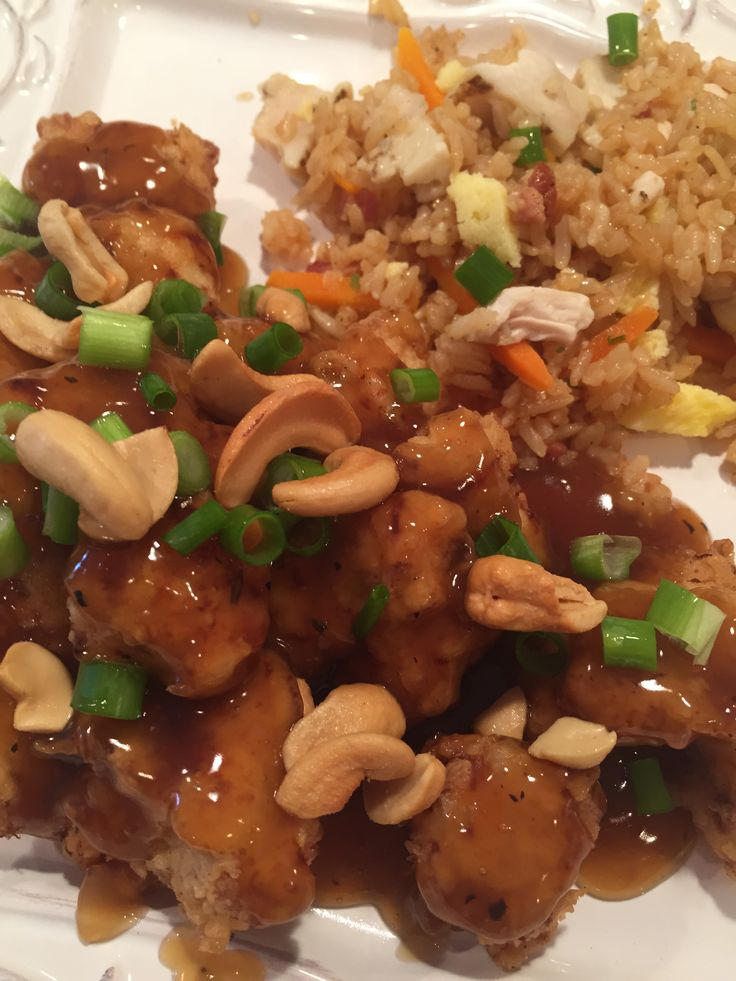 "Cashew Chicken      I grew up in Springfield Missouri, ""The Cashew Chicken Capital of the World!"" Chef David Leong, moved to the U.S. from China in 1940 and created this recipe to appeal to local residents' taste buds. His famous deep-fried cashew chicken recip..."