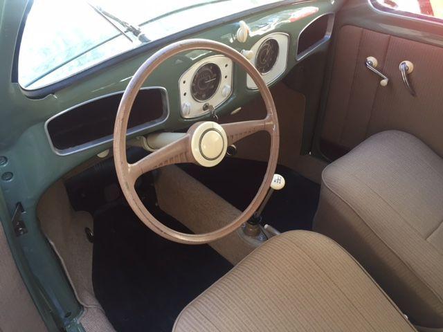 1952 VW Split Window Deluxe Sedan For Sale @ Oldbug.com