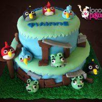Τα πιο «γλυκά - θυμωμένα» πουλάκια (angry birds) που φάγατε ποτέ. Πανδαισία χρωμάτων και γεύσεων για μοναδικές στιγμές χαράς και ξεγνοιασιάς!!