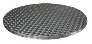 "Round Stainless Steel Table Tops; 36"" Stainless steel table tops for patio use. Many sizes available.USE WITH DINETTE BASE TO REPLACE GLASS TOP"