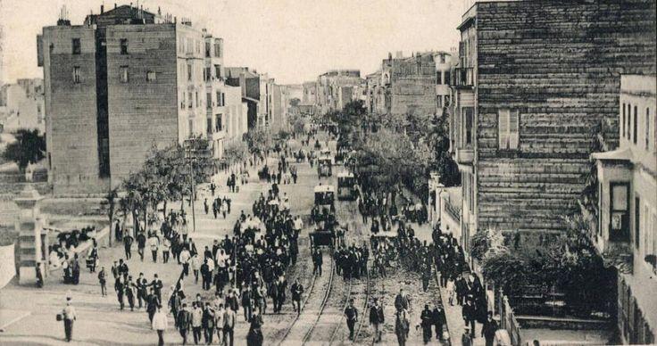 Twitter / hayalleme: Halaskargazi Caddesi (1910 ...