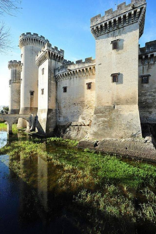 Castel in Tarascon - France