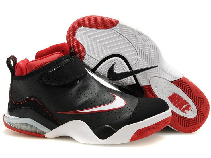 Nike Zoom Flight Club Tony Parker Shoes Black/Red/White
