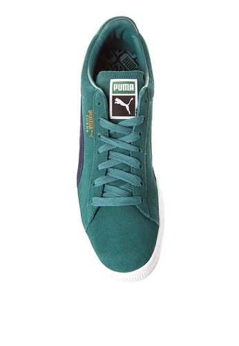 Suede Classic + Sneakers from PUMA in green_5