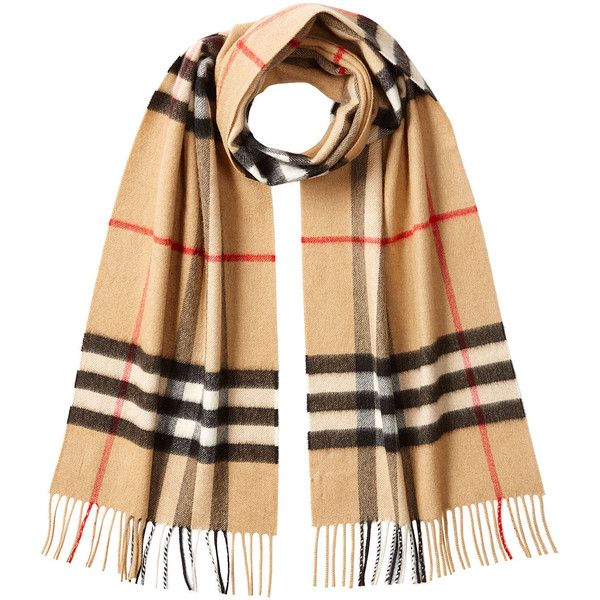 Burberry Printed Cashmere Scarf ($405) ❤ liked on Polyvore featuring accessories, scarves, multicolored, burberry scarves, cashmere shawl, burberry, checkered scarves and cashmere scarves