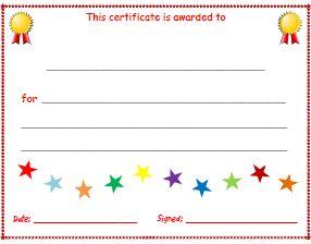 kid certificate templates free printable - 17 best ideas about free certificate templates on