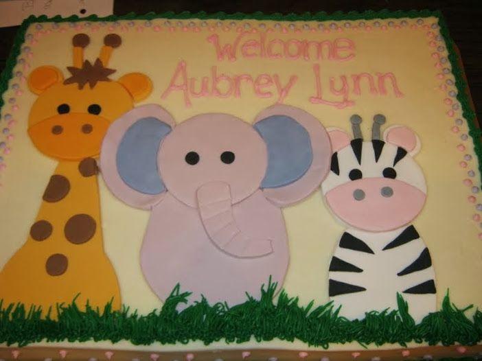 Custom Sheet Cake For Baby Shower